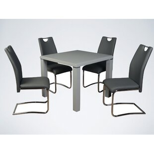 Kilmer Dining Set With 4 Chairs By Metro Lane