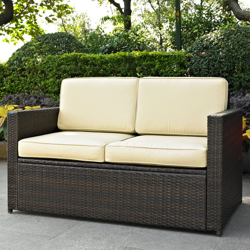 Outdoor Sofas Loveseats - Love seat and sofa