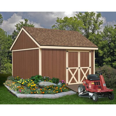 Mansfield 12 ft. W x 12 ft. D Solid Wood Storage Shed Best Barns