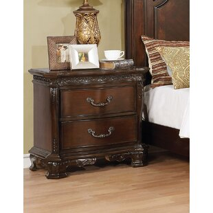 Rishel 2 Drawer Nightstand by Astoria Grand
