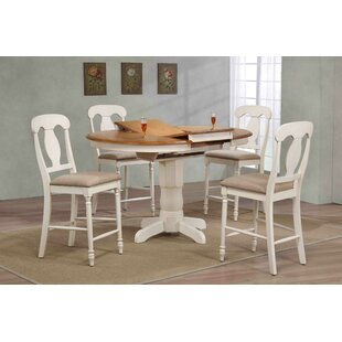 Napoleon Back Counter Height 5 Piece Pub Table Set Iconic Furniture