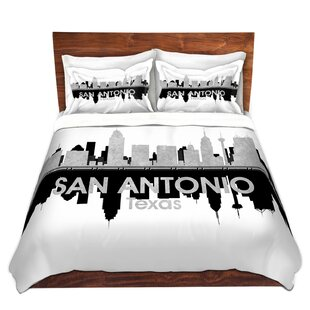 East Urban Home City IV San Antonio Texas Duvet Set