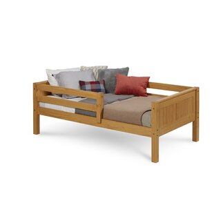 Oakwood Twin Convertible Toddler Bed by Mack & Milo