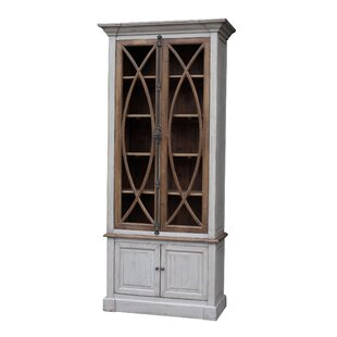 Garrity Vitrine China Cabinet by White x White