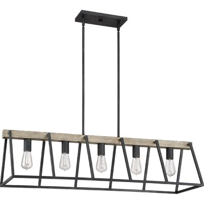 Joss Maindillman 5 Light Kitchen Island Linear Pendant Dailymail