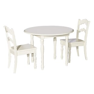 Anton 3 Piece Table and Chair Set  sc 1 st  Wayfair & Kidsu0027 Table and Chairs Youu0027ll Love | Wayfair