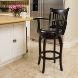 Fairhope Bar & Counter Swivel Stool by Red Barrel Studio®