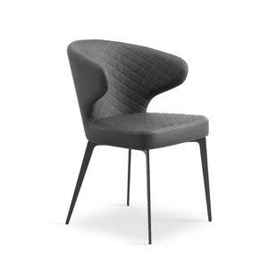 Shinkle Upholstered Dining Chair (Set of 2) by Orren Ellis