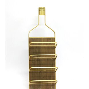 8 Bottle Floor Wine Bottle Rack by Jeco I..