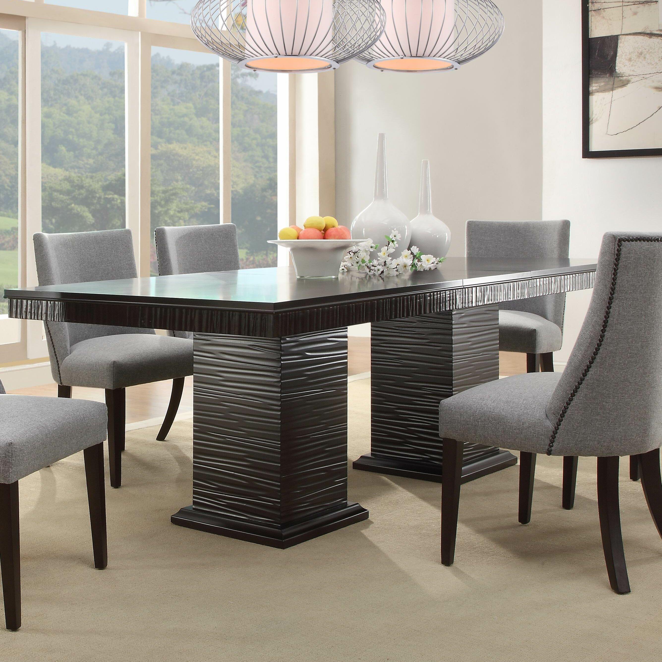 Cadogan extendable dining table reviews joss main