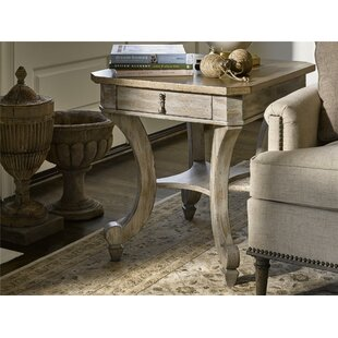 Cachet Carlton End Table with Storage