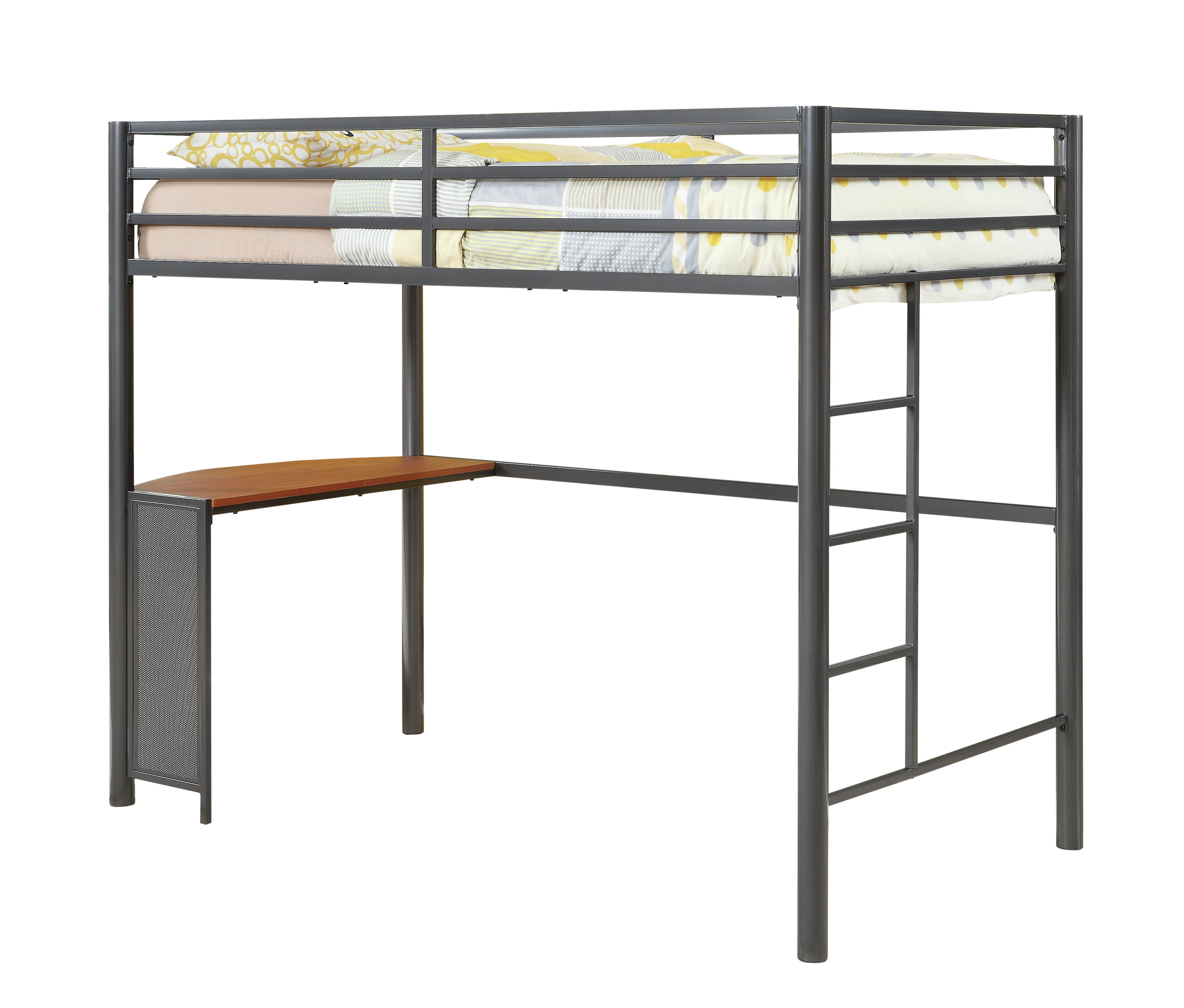 built bunk in with bed item twin number hill over loft wrangle b coaster products
