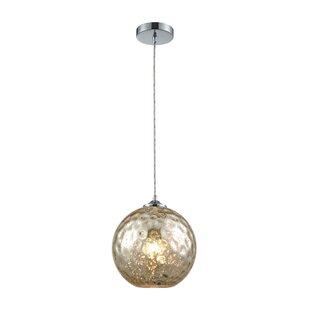 Great choice Rotterdam 1-Light Globe Mini Pendant By Alcott Hill
