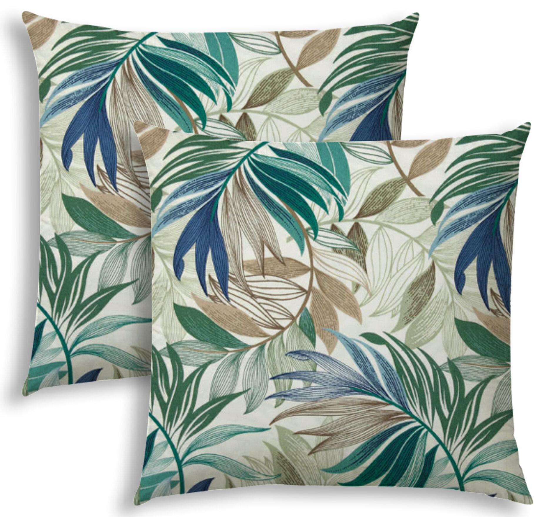 Bay Isle Home Jewett Indoor Outdoor Throw Pillow Wayfair