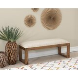Torbert Solid Wood Bench by Foundry Select