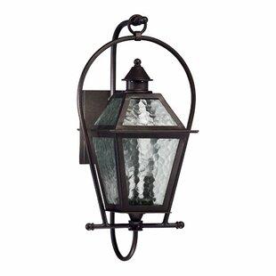 Scheuerman 2-Light Outdoor Wall lantern