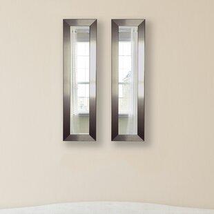 Wrought Studio 2 Piece Wanneroo Petite Panels Mirror Set