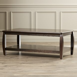 Leroy Coffee Table In Cappucino by Charlton Home 2019 Coupon