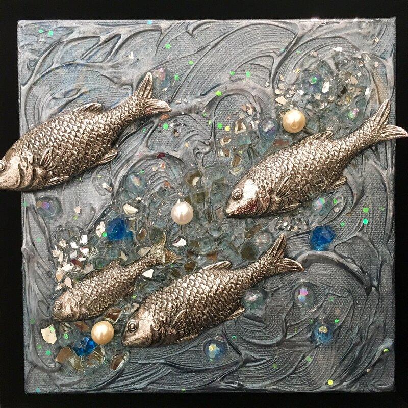 Rosecliff Heights Reef Fish Sculpture Wall Décor | Wayfair