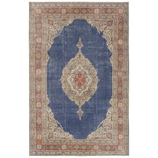 Olinger Denim Indoor/Outdoor Area Rug