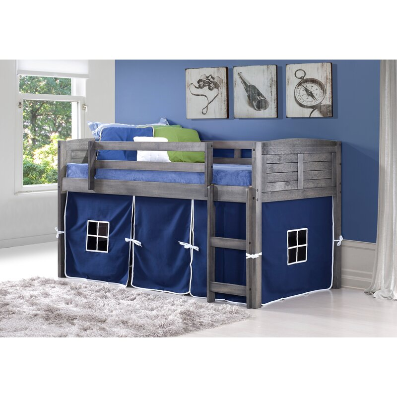Irons Twin Low Loft Bed