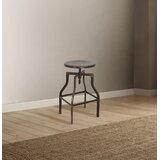 Mullenax Swivel Adjustable Height Stool by 17 Stories
