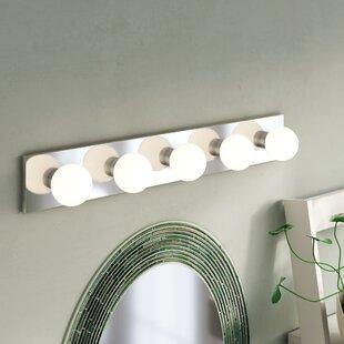 Ebern Designs Narberth 5-Light Bath Bar