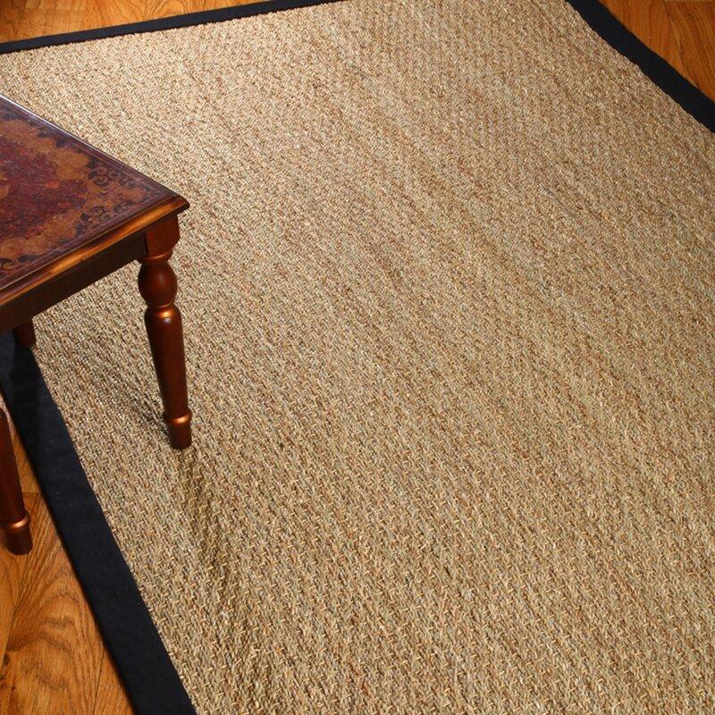 Black And Tan Area Rugs natural area rugs black/tan maritime area rug & reviews | wayfair