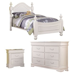 Eusebio Four Poster Configurable Bedroom Set