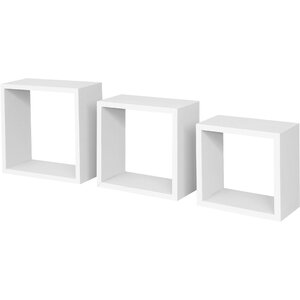 MountMartin Floating Shelf Set (Set of 3)