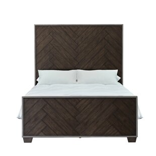 Aahil Panel Bed