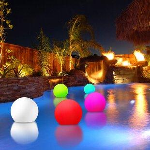 Vandue Corporation Modern Home Poolside and Floating Light
