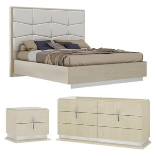 Kersh Platform Configurable Bedroom Set