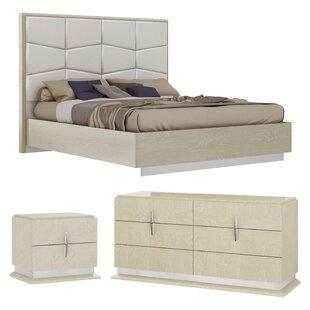Kersh Platform Configurable Bedroom Set