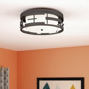 Ivy Bronx Neven 3-Light Flush Mount