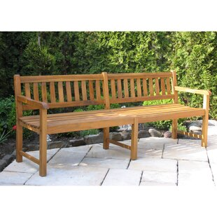 Lakeshore Wooden Bench By Sol 72 Outdoor