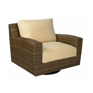Saddleback Swivel Patio Chair with Cushions