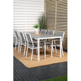 Alagan 6 Seater Dining Set By Sol 72 Outdoor