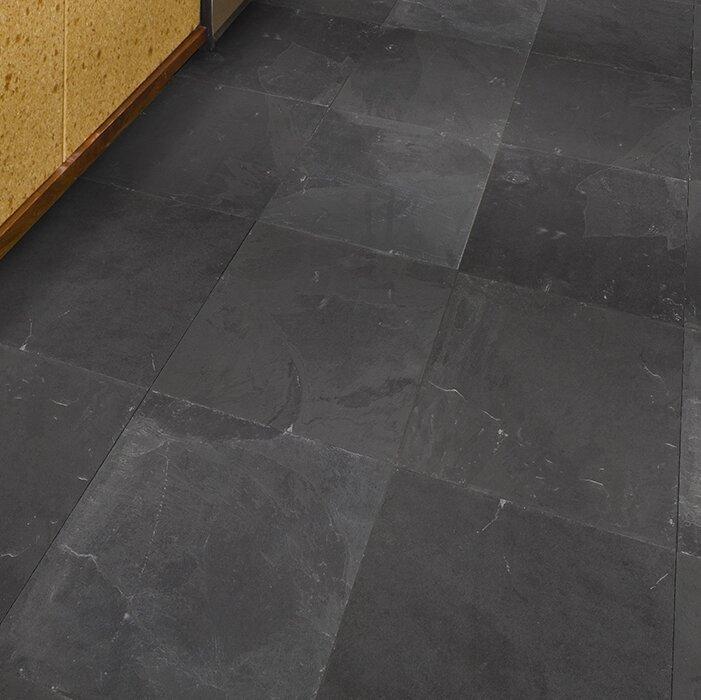 Msi Montauk Gau 24 Quot X 24 Quot Slate Field Tile In Black Amp Reviews Wayfair