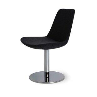 Elwell Swivel Upholstered Dining Chair