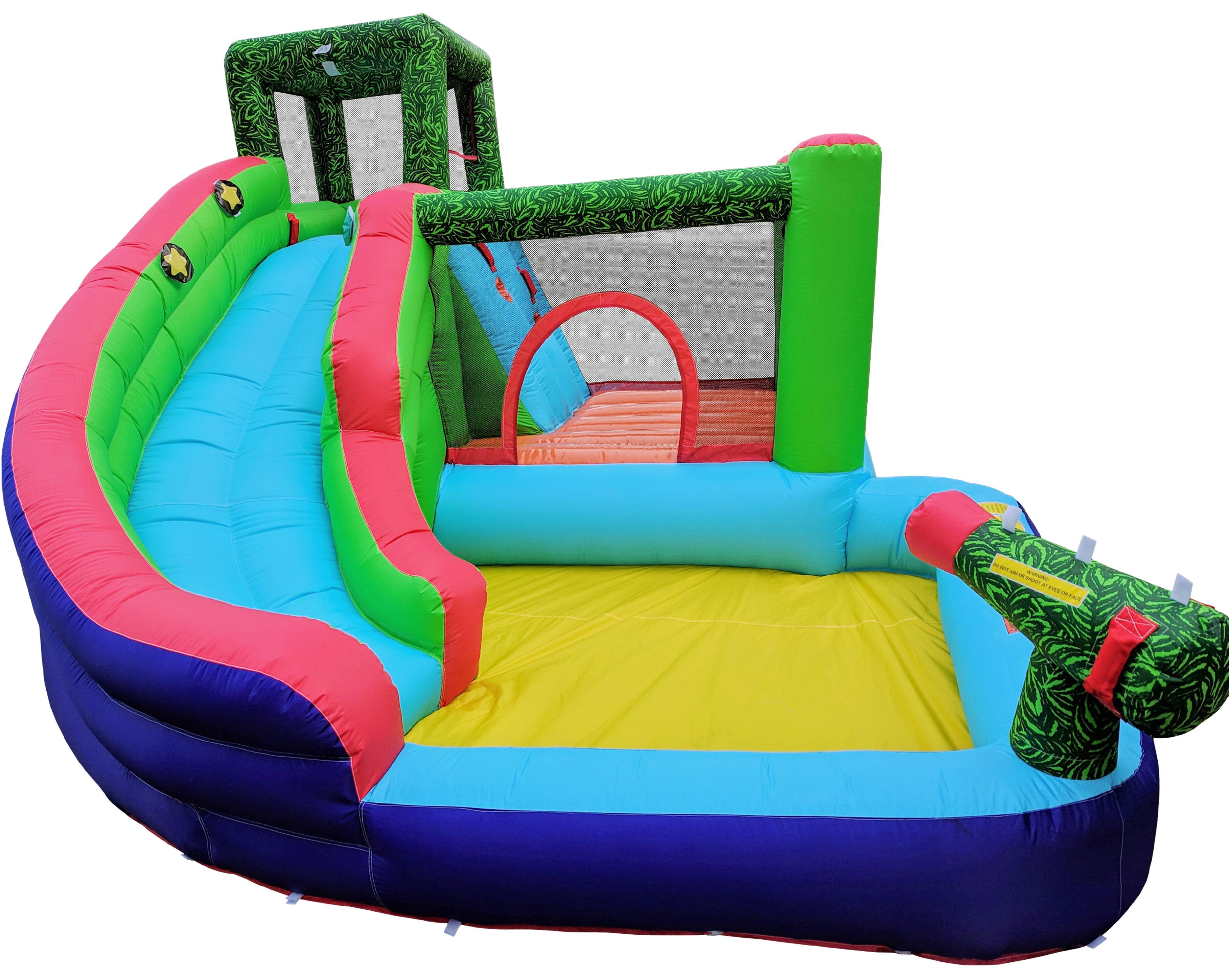 WonderBounz 7-in-1 Adventure Slide Bounce House & Reviews | Wayfair