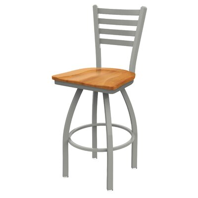 Cool Winston Porter Evers 25 Inch Swivel Bar Stool Base Finish Bralicious Painted Fabric Chair Ideas Braliciousco