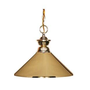 Winston Porter Whitford 1-Light Cone Pend..