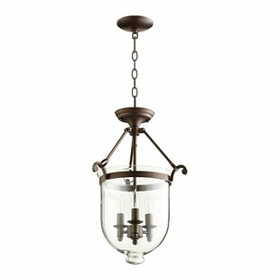 Quorum 3-Light Urn Pendant
