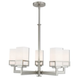 Nailwell 5-Light Shaded Chandelier
