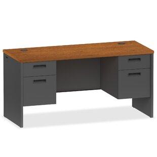 Lorell 97000 Modular Series Pedestal Executive Desk