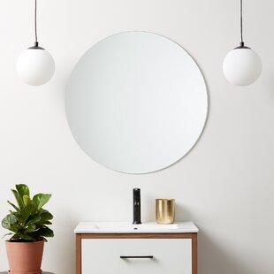 Frameless Polished Edge Mirror Wayfair