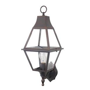 Best Choices Fleischer 1-Light Wall Lantern By Darby Home Co