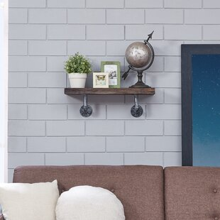 Mouton Pipe Floating Shelf