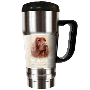 Howard Robinson's Irish Red Setter 20 oz. Stainless Steel Travel Tumbler